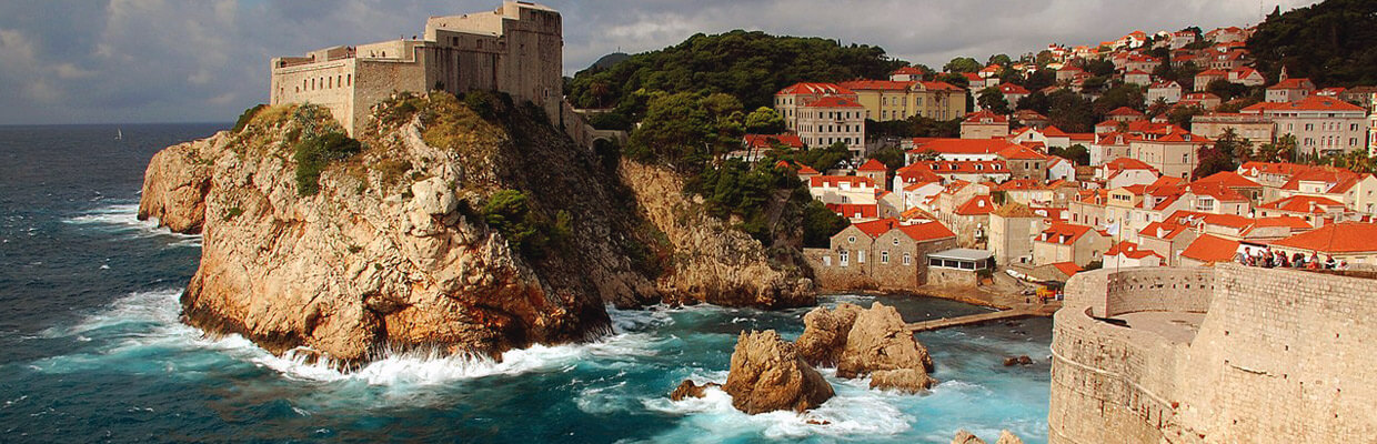 Walls of Dubrovnik in Croatia | ETIAS Countries
