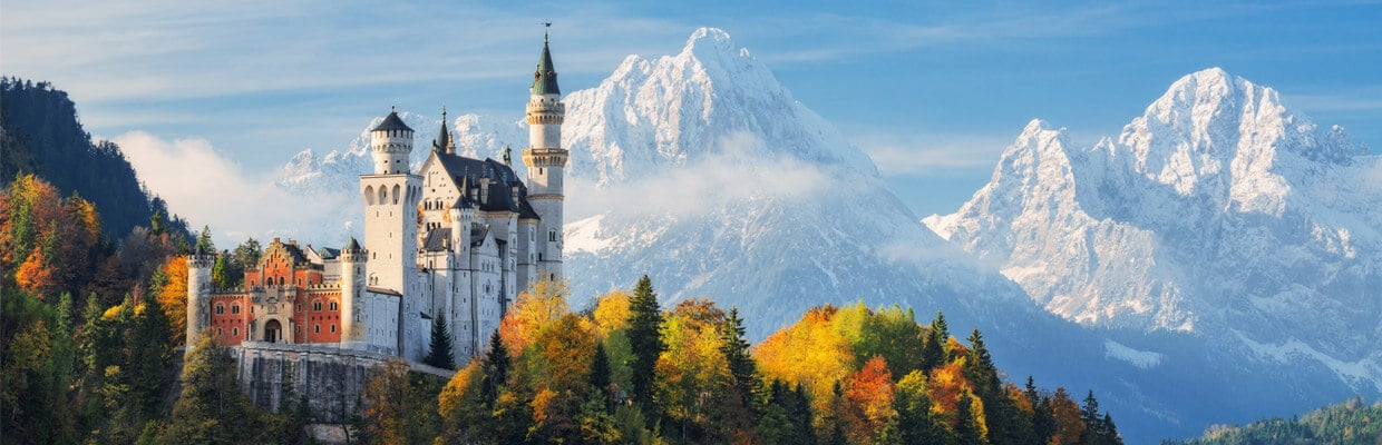 Neuschwanstein Castle in Bavaria, Germany | ETIAS Countries