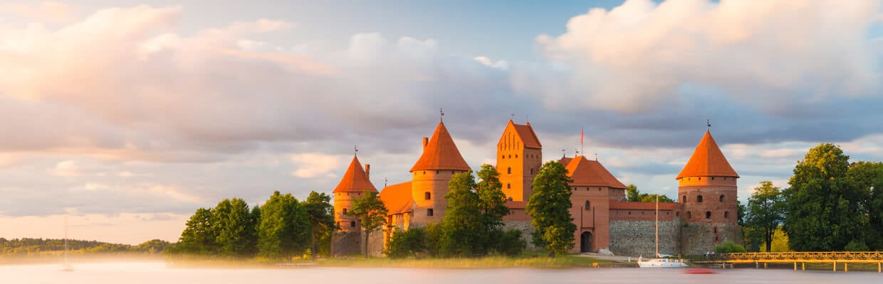 The Trakai Island Castle in Lithuania | ETIAS Countries
