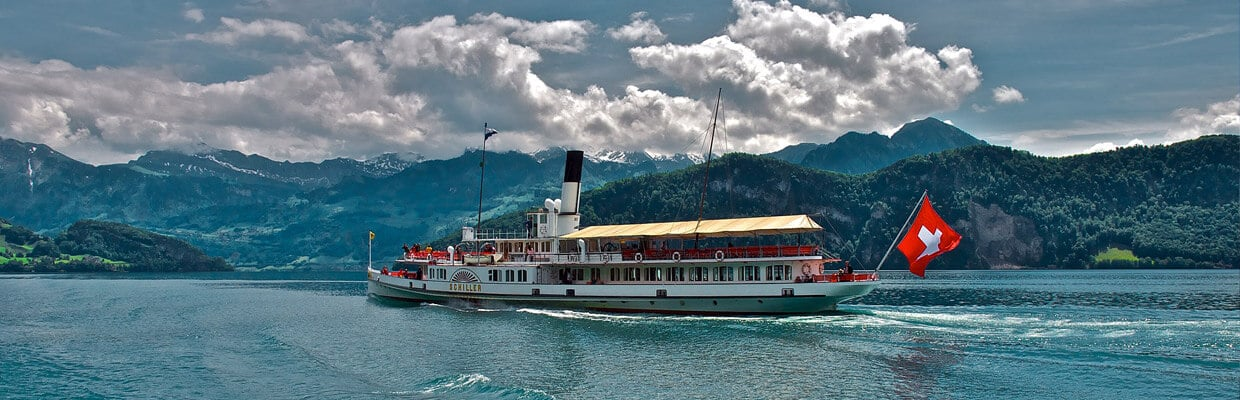Clyde Steamer Boat in Switzerland | ETIAS Countries