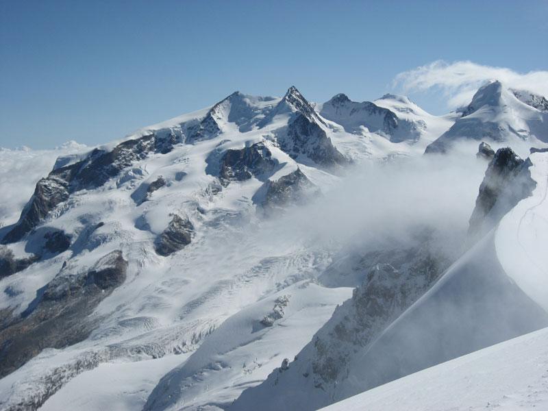 Monte Rosa, Italy & Switzerland