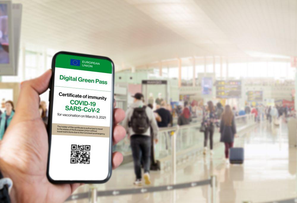 EU's Digital Green Pass