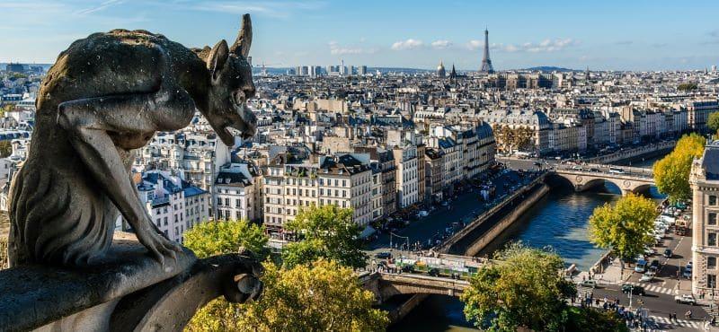 Travelling to Paris